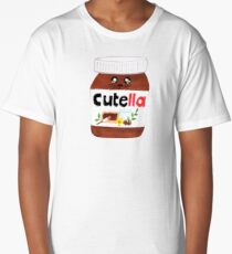 "Cute Nutella AKA ""Cutella"" Long T-Shirt"