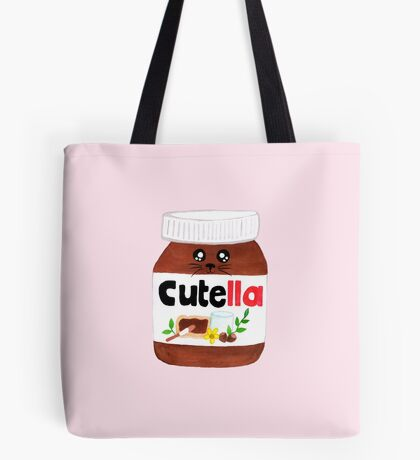 "Cute Nutella AKA ""Cutella"" Tote Bag"