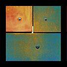 Rusty Triptych 1 by Menega  Sabidussi