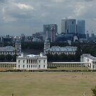 Greenwich And Canary Wharf by Marie Brown ©