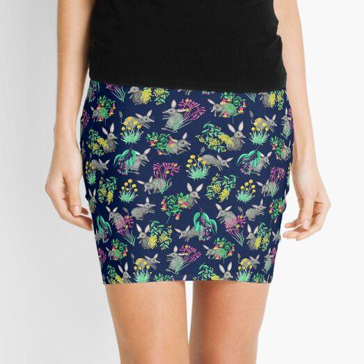 Australian Bilby (non-Easter version) Mini Skirt