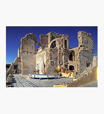 Alarçon Mendoza Castle's Ruins Photographic Print