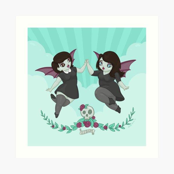 My Favorite Murder: Sweet Baby Angels Art Print