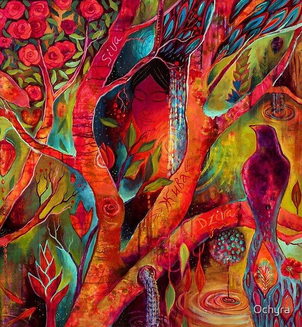 Tree Of Zhiva | Art by Marianna Ochyra