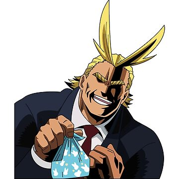 All Might - Wanna Eat Lunch Together? by OyasumiSupreme