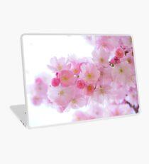 Japanese cherry trees Laptop Skin