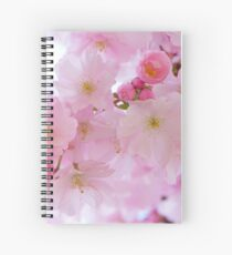 Japanese cherry trees Spiral Notebook