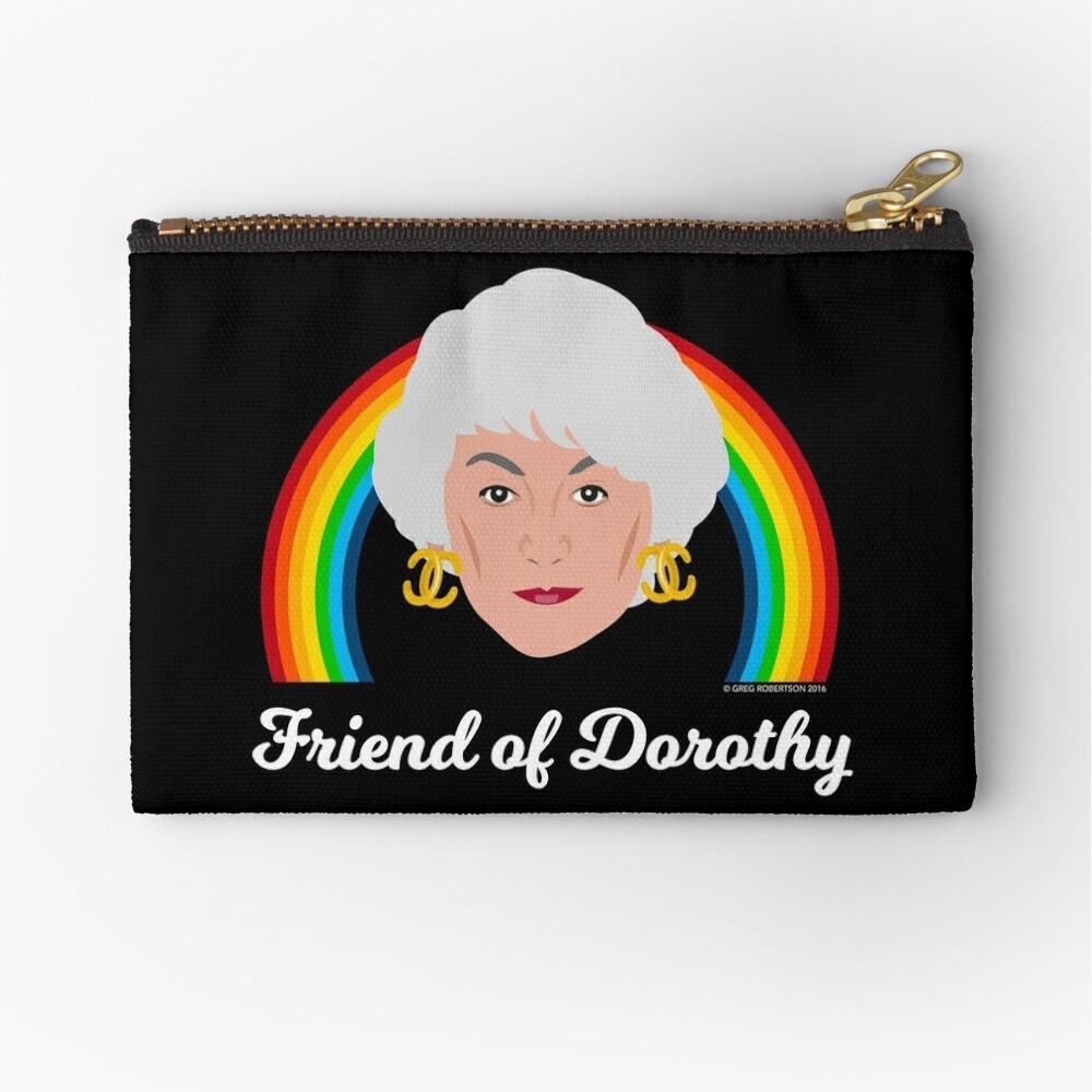 Friend of Dorothy Zipper Pouch