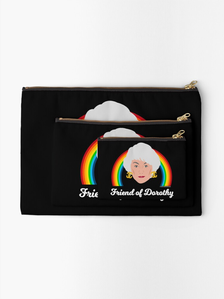 Alternate view of Friend of Dorothy Zipper Pouch