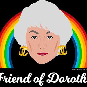Dorothy Zbornak - Friend of Dorothy by gregs-celeb-art