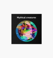 Epic Mythical Creatures Chart Art Board