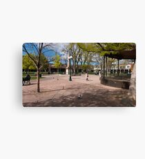 Central Plaza Canvas Print