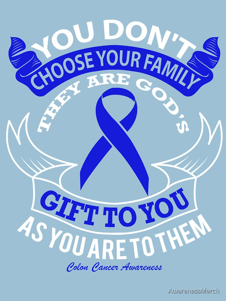 Colon Cancer Awareness Slogans Gifts Merchandise Redbubble
