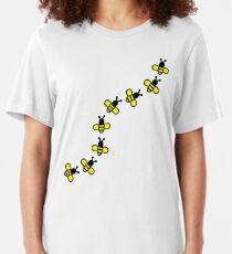 Bees Slim Fit T-Shirt