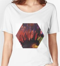 colorful hexagon Women's Relaxed Fit T-Shirt