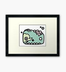 Little Monsters - Zombie Framed Print