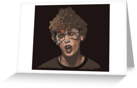 Napoleon Dynamite Greeting Cards By Signer Redbubble