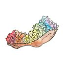 LGBTQIA Stolzkristall von Kendra Kantor