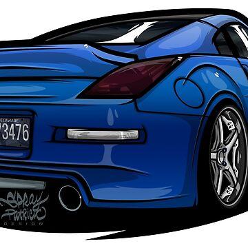 Nissan 350 Z (@katydaly @photondigital) by SprayPatrick