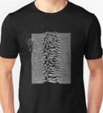 Thicc Thighs and Unknown Pleasures Unisex T-Shirt