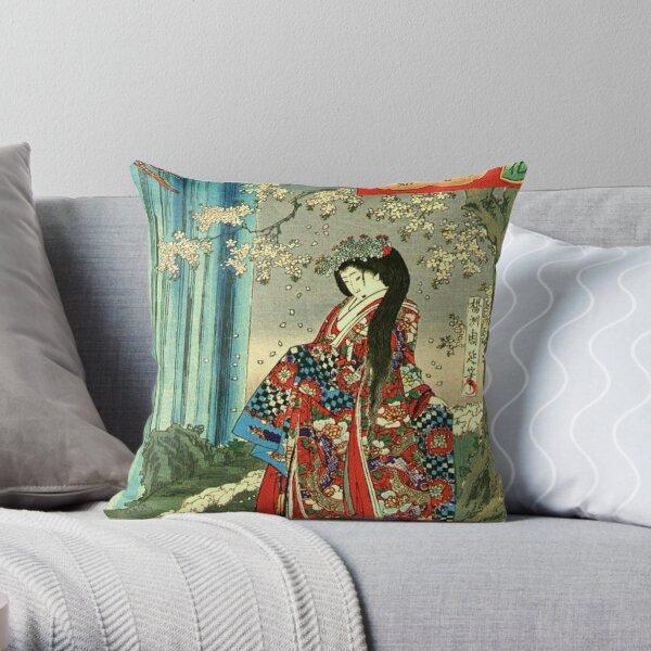 Classique japonaise Geisha Lady - Japan Art Coussin