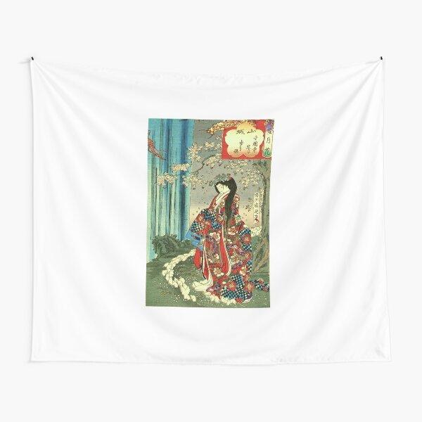 Japanese Classic Geisha Lady - Japan Art Tapestry