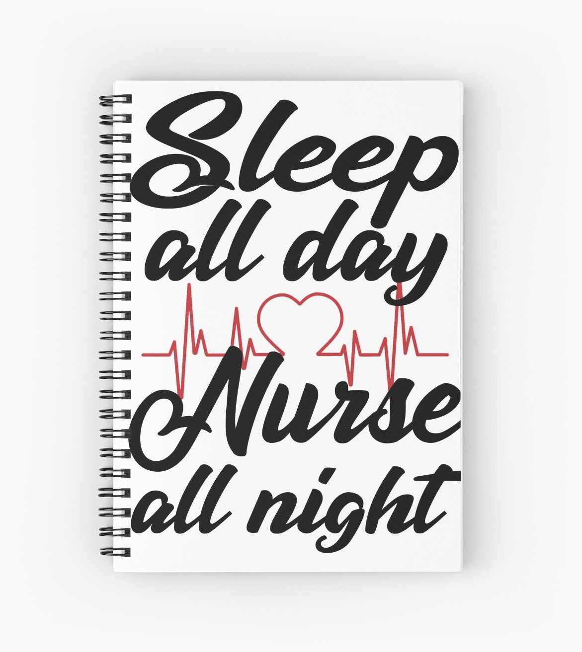 "Funny Nurse Quotes: ""Sleep All Day Nurse All Night Funny T-shirts Funny"