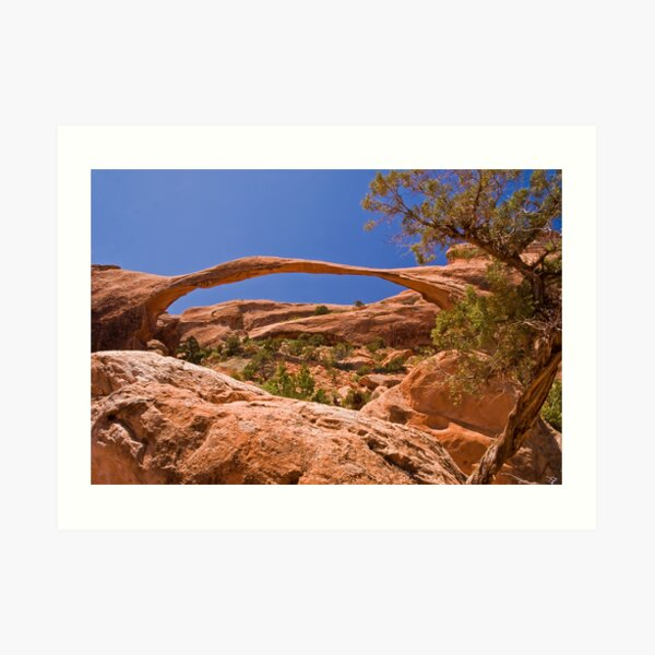 Landscape Arch at high noon Art Print
