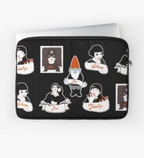 Bits and Bobs: Amelie (B & W) Laptop Sleeve