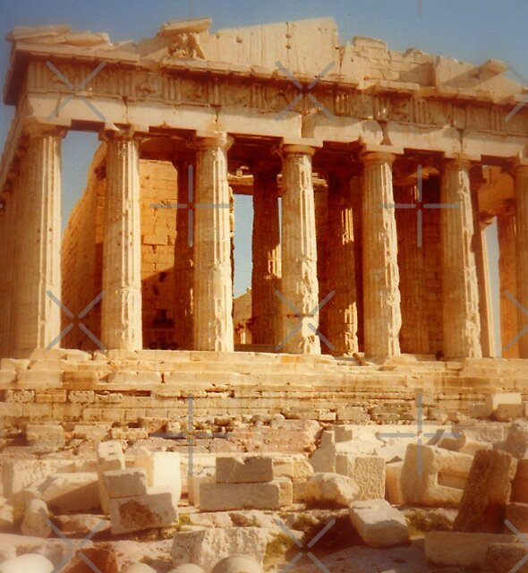 The Parthenon at the Acropolis by Shiva77