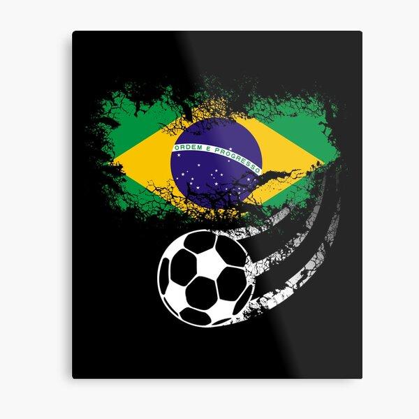 Brazil Football World Cup Metal Print