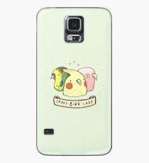 Crazy Bird Lady Case/Skin for Samsung Galaxy