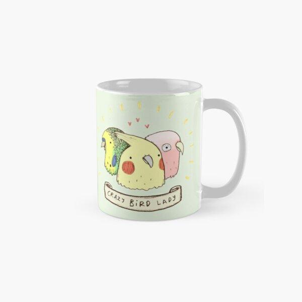 Crazy Bird Lady Classic Mug