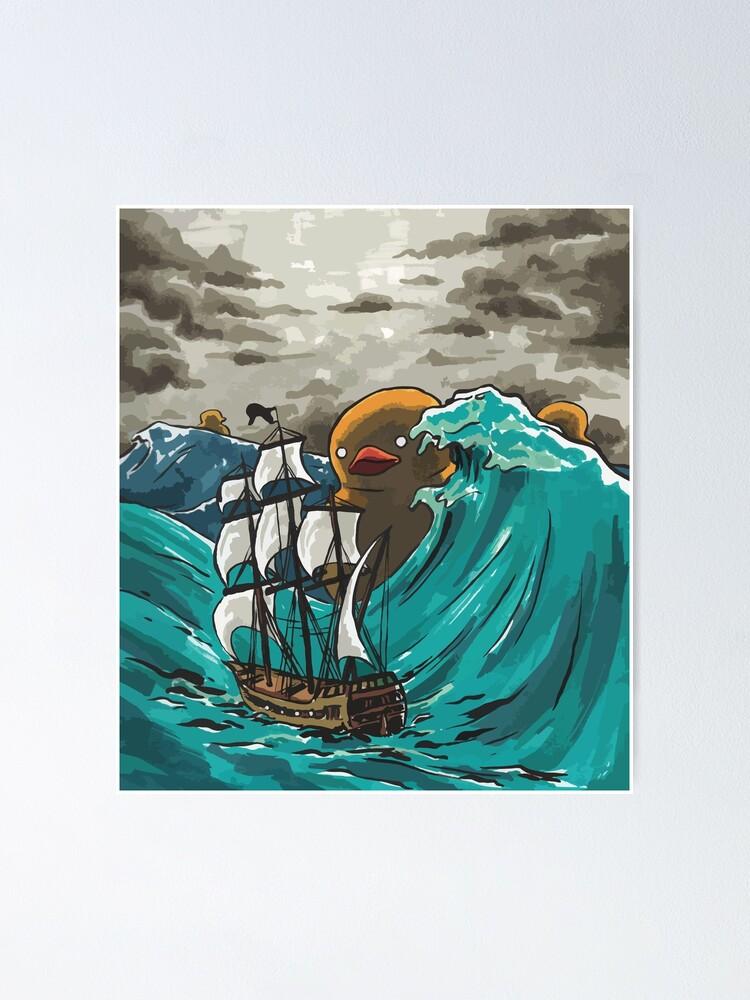 Alternate view of Deep-Sea Duckies Poster