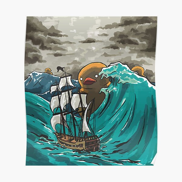 Deep-Sea Duckies Poster