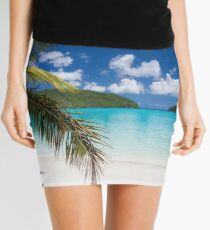 Tropical beach Mini Skirt