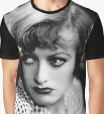 Joan Crawford Regen Grafik T-Shirt