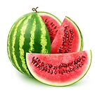 Sliced watermelon by 6hands
