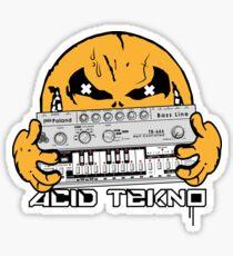 acid tekno Sticker
