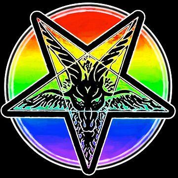The Pride Pentagram by cannibaljp