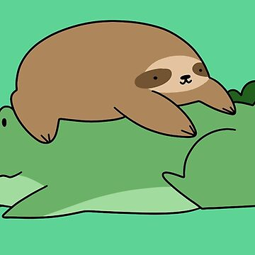 Sloth and Alligator  by SaradaBoru