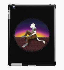 Lion Woman on Wall iPad Case/Skin