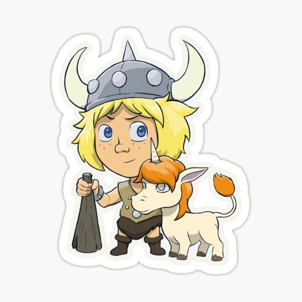 Bobby the Barbarian Sticker