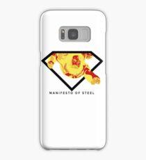 Manifesto of Steel Samsung Galaxy Case/Skin
