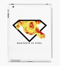 Manifesto of Steel iPad Case/Skin