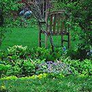Visual Texture My Secret Garden by Linda Miller Gesualdo