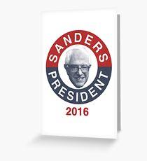 Bernie Sanders 2016 Greeting Card