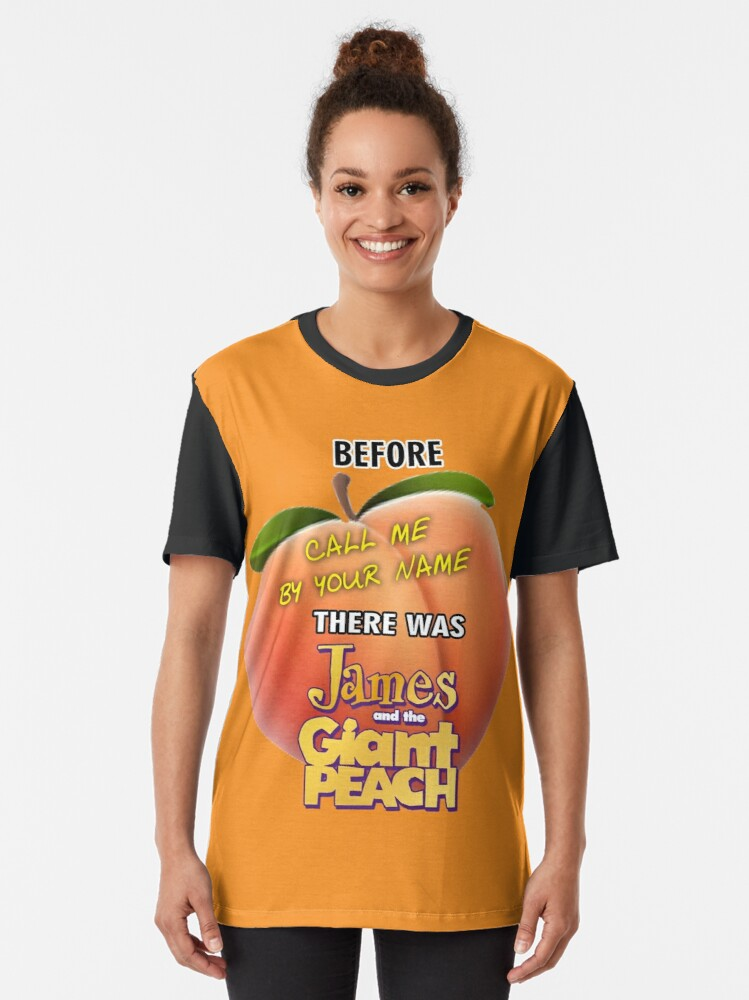Alternate view of Peachy Keen Graphic T-Shirt
