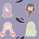Little Witch Academia by MariellisDesign