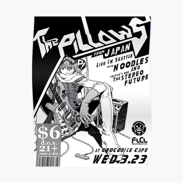 Flcl The Pillows Live Poster